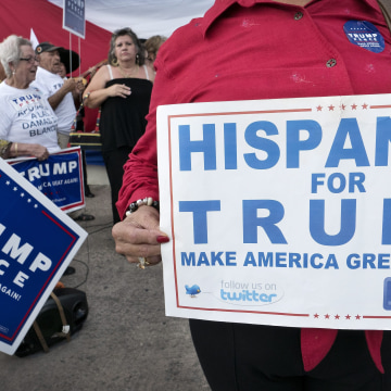 Image: Cubans support Donald Trump campaigns in Miami, Florida