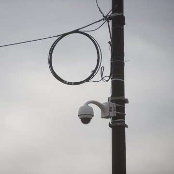 Image: A security camera in Philadelphia
