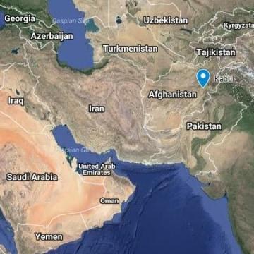 Image: Map of Kabul