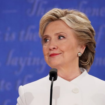 Image: Clinton at the final presidential debate