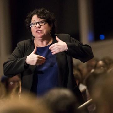 Image: U.S. Supreme Court Associate Justice Sonia Sotomayor