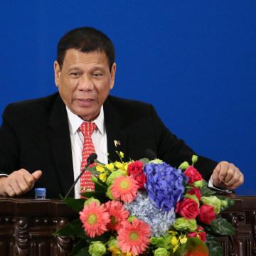 Image: Duterte has repeatedly make undiplomatic remarks aimed at Washington.