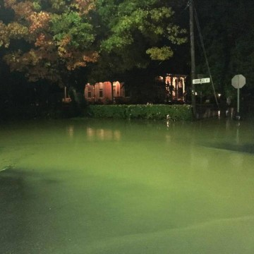 Image: The Milesburg and Howard areas were flooded early Friday morning in Centre County