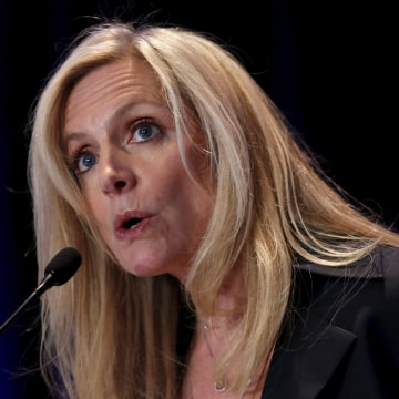 "Image: Federal Reserve Governor Lael Brainard delivers remarks on ""Coming of Age in the Great Recession"""