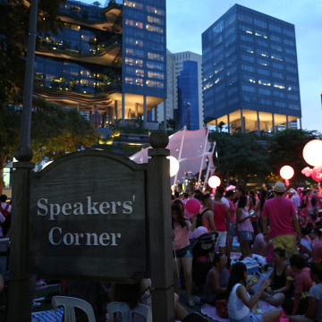 Pink Dot Rally Held In Singapore