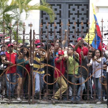 IMAGE: Venezuelan protest
