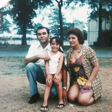Undated photo of Alina Moran, CEO of New York City Health   Hospitals/Metropolitan, and her parents.