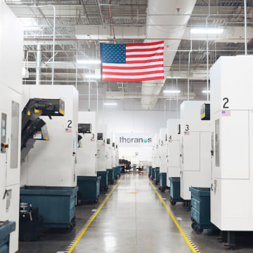 Theranos manufacturing facility