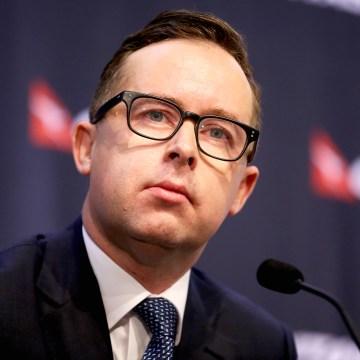 Qantas Airways CEO Alan Joyce Presents Half-Year Results