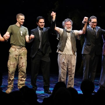 "USA - ""Bengal Tiger at the Baghdad Zoo"" Curtain Call in New York City"