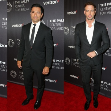 Left to right: Wilmer Valderrama, Mark Consuelos, William Levy and Jaime Camil