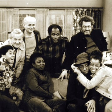 Cast of Good Times with Norman Lear