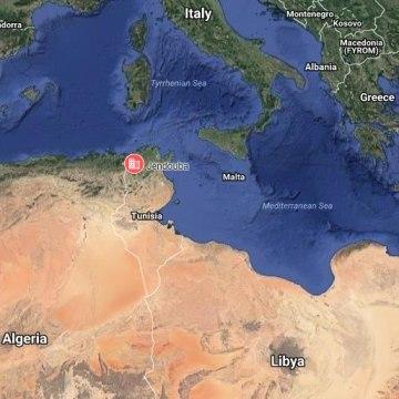 Image: Map showing Jendouba