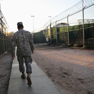Image: Path To Closure Of US Detention Center At Guantanamo Bay Still Uncertain