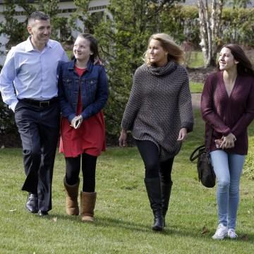 Image: Peter Foster, Kerry Foster, Susan Foster, Emma Foster