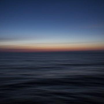Image: Dawn breaks over the sea and Turkish coastline