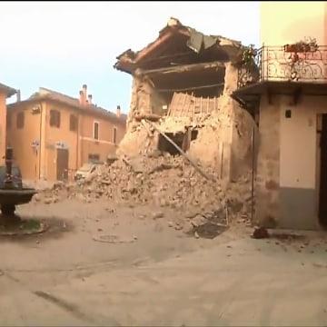Image: Norcia earthquake