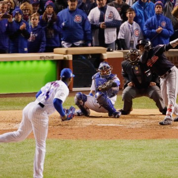 Image: World Series - Cleveland Indians v Chicago Cubs - Game Five