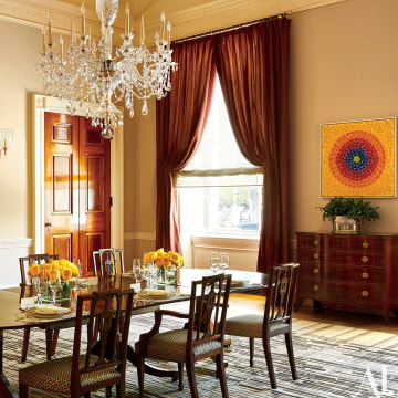 Image: The Old Family Dining room in the White House