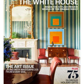 Image: The December 2016 issue of Architectural Digest