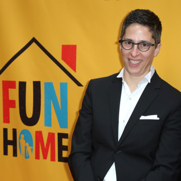"""Fun Home"" Broadway Opening Night - Arrivals & Curtain Call"