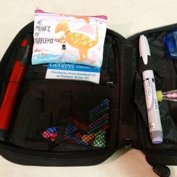 Dorian's insulin kit