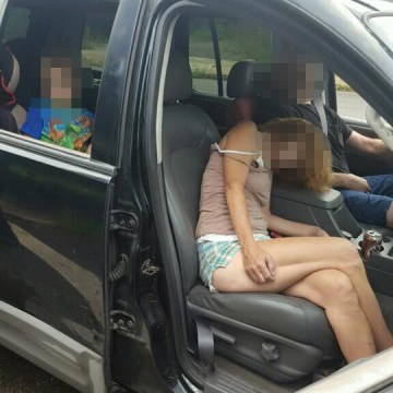 Image: Police in East Liverpool, Ohio released an image of a couple overdosed in the front seat