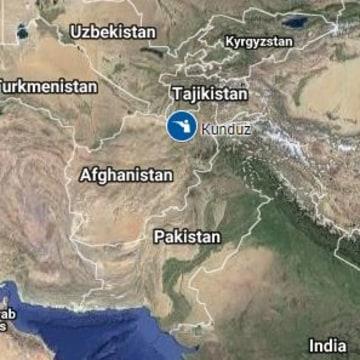 Image: Map of Kunduz