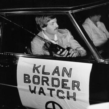 David Duke Patrols for Illegal Immigrants