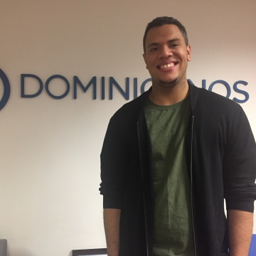 Omar Suarez, 26, lives in The Bronx and is the Director of Dominicanos USA in New York.
