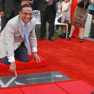 Paseo de la Fama Honors Celebrities