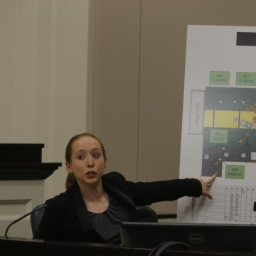 Image: Investigator at Michael Slager trial