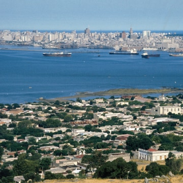 Skyline of Montevideo