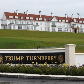 Image: Hotel at Trump Turnberry golf resort in Scotland