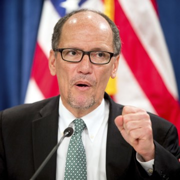 IMAGE: Labor Secretary Thomas Perez