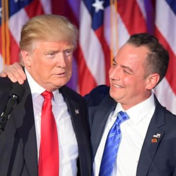 Image: Donald Trump and Reince Priebus