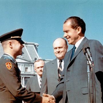 IMAGE: Jack Jacobs, Melvin Laird, Richard Nixon