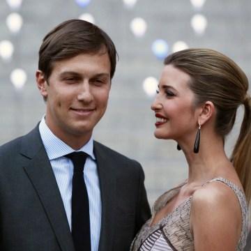 Image: Jared Kushner and Ivanka Trump in 2012