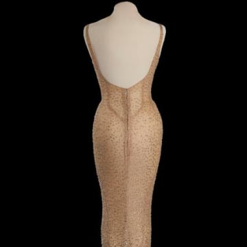 Happy Birthday Mr. President Marilyn Monroe Dress is pictured in this photo provided by Julien's Auctions