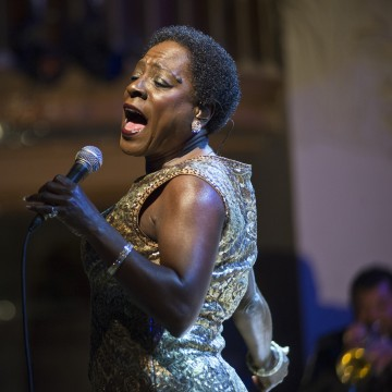 Sharon Jones & The Dap Kings Perform At Palau De La Musica In Barcelona