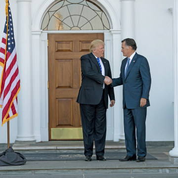 Donald Trump, Rival Mitt Romney Have 'Great' Meeting as Trump ...