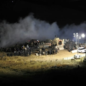 IMAGE: Dakota Access Pipeline protest