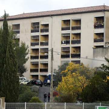 Image: Attack on a retirement home for Catholic missionaires in Montferrier-sur-Lez