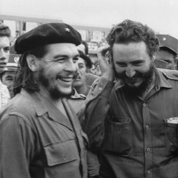 Image: Fidel Castro and Che Guevara in the 1960s