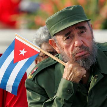 Image: Fidel Castro in 2005