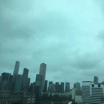 IMAGE: Melbourne, Australia, thunderstorm
