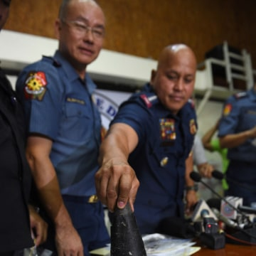 Image: An improvised explosive device found in Manila
