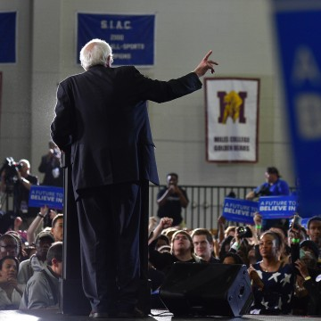 Bernie Sanders HBCU Tour and Rally At Atlanta University Center