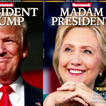 IMAGE: Newsweek election covers