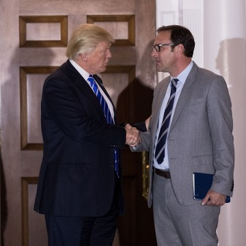 Image: Donald Trump and Todd Ricketts